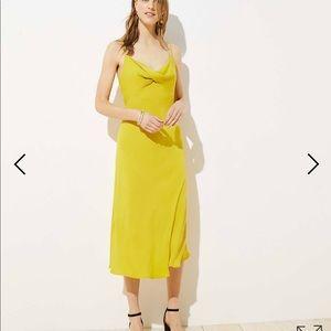 LOFT Midi Slip Dress